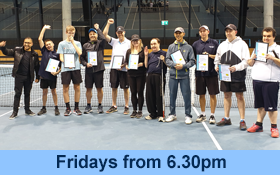 Image of Blind Tennis for Adults at the National Tennis Centre. Join in.