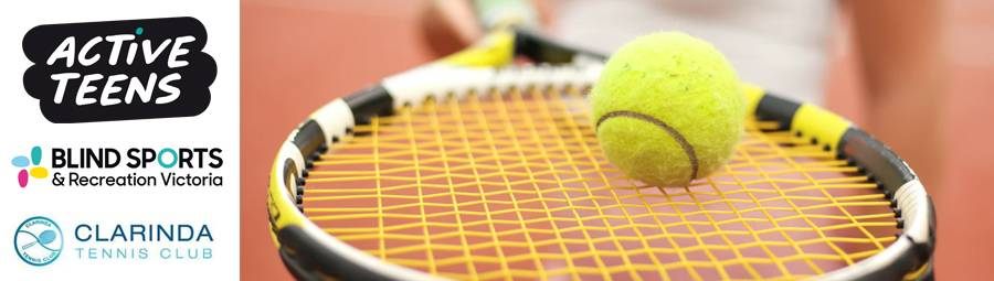 Image of Active Teens Blind Tennis - Term 2. Get involved