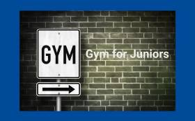 Image of Gym Class for Juniors via Zoom