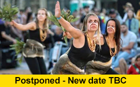 Image of POSTPONED. Aboriginal Dance Workshop and stay for cultural cuisine and conversation.