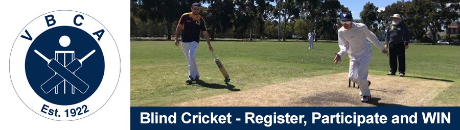 Image of Blind Cricket - Register, Participate and WIN