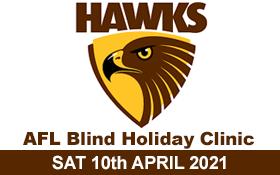 Image of Hawthorn Football Club - AFL Blind Footy Clinic