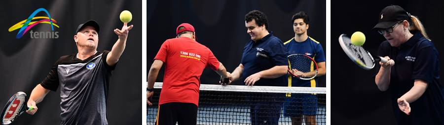Image of Blind & Low Vision Tennis State Championships