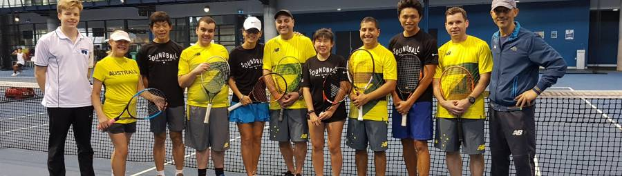 Image of Singapore visit paves the way for future blind tennis competition