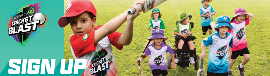 Image of Woolworths Cricket Blast. Come and have a hit!