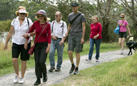 Image of Walking Programs for people who are blind or have low vision